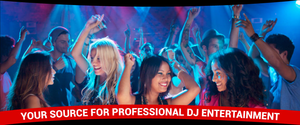 YOUR SOURCE FOR PROFESSIONAL DJ ENTERTAINMENT | Dancing crowd